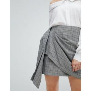 J.O.A. Plaid Mini Skirt